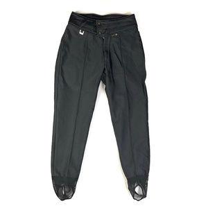 Vintage Spyder Black Skinny Stretch Ski Pants